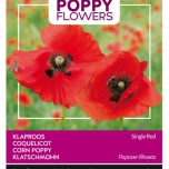 Poppies of the world – Coquelicot Rhoeas Shirley Double Varie