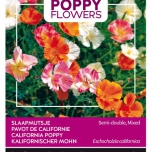 Poppies of the world – Eschscholtzia Cal.Ballerine Double